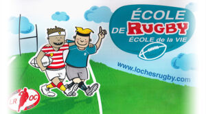 ecole rugby loches